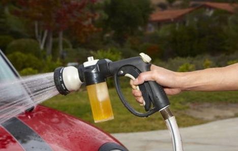 Deionized Water To Wash Car